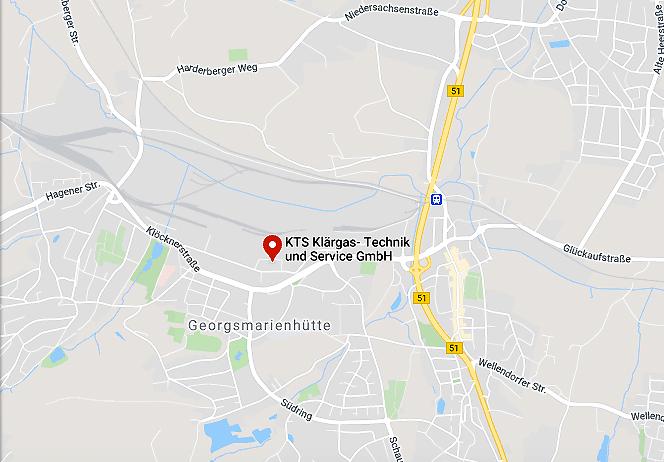 Klärgas-Technik und Service GmbH in Georgsmarienhütte bei Osnabrück